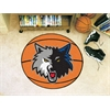 "FANMATS NBA - Minnesota Timberwolves Basketball Mat 27"" diameter"