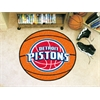 "FANMATS NBA - Detroit Pistons Basketball Mat 27"" diameter"