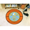 "FANMATS NBA - Denver Nuggets Basketball Mat 27"" diameter"