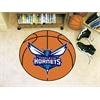 """FANMATS NBA - Charlotte Hornets Basketball Mat 27"""" diameter"""