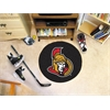 FANMATS NHL - Ottawa Senators Puck Mat