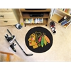 FANMATS NHL - Chicago Blackhawks Puck Mat