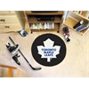 FANMATS NHL - Toronto Maple Leafs Puck Mat