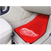 "FANMATS NHL - Detroit Red Wings 2-pc Printed Carpet Car Mats 17""x27"""