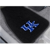 "FANMATS Kentucky 2-piece Embroidered Car Mats 18""x27"""