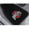 "FANMATS Ohio State 2-piece Embroidered Car Mats 18""x27"""
