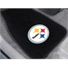 "FANMATS NFL - Pittsburgh Steelers 2-piece Embroidered Car Mats 18""x27"""