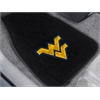 "FANMATS West Virginia 2-piece Embroidered Car Mats 18""x27"""