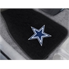 "FANMATS NFL - Dallas Cowboys 2-piece Embroidered Car Mats 18""x27"""