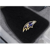"FANMATS NFL - Baltimore Ravens 2-piece Embroidered Car Mats 18""x27"""