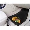 "FANMATS NHL - Chicago Blackhawks 2-pc Printed Carpet Car Mats 17""x27"""