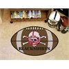 "FANMATS Nebraska Blackshirts Football Rug 20.5""x32.5"""