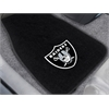 """FANMATS NFL - Oakland Raiders 2-piece Embroidered Car Mats 18""""x27"""""""