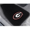"FANMATS Georgia 2-piece Embroidered Car Mats 18""x27"""