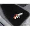 "FANMATS NFL - Denver Broncos 2-piece Embroidered Car Mats 18""x27"""