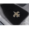 "FANMATS NFL - New Orleans Saints 2-piece Embroidered Car Mats 17""x25.5"""