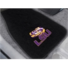 "FANMATS Louisiana State 2-piece Embroidered Car Mats 18""x27"""