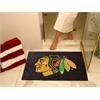 "FANMATS NHL - Chicago Blackhawks All-Star Mat 33.75""x42.5"""