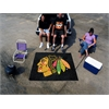 FANMATS NHL - Chicago Blackhawks Tailgater Rug 5'x6'
