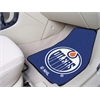 "FANMATS NHL - Edmonton Oilers 2-pc Printed Carpet Car Mats 17""x27"""