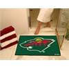 "FANMATS NHL - Minnesota Wild All-Star Mat 33.75""x42.5"""