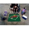 FANMATS NHL - Minnesota Wild Tailgater Rug 5'x6'
