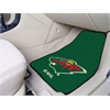 "FANMATS NHL - Minnesota Wild 2-pc Printed Carpet Car Mats 17""x27"""