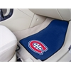 "FANMATS NHL - Montreal Canadiens 2-pc Printed Carpet Car Mats 17""x27"""