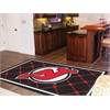FANMATS NHL - New Jersey Devils Rug 5'x8'