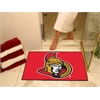 "FANMATS NHL - Ottawa Senators All-Star Mat 33.75""x42.5"""