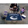 FANMATS NHL - Vancouver Canucks Tailgater Rug 5'x6'