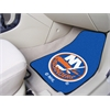 "FANMATS NHL - New York Islanders 2-pc Printed Carpet Car Mats 17""x27"""