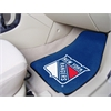 "FANMATS NHL - New York Rangers 2-pc Printed Carpet Car Mats 17""x27"""