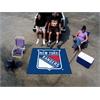 FANMATS NHL - New York Rangers Tailgater Rug 5'x6'