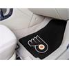 "FANMATS NHL - Philadelphia Flyers 2-pc Printed Carpet Car Mats 17""x27"""