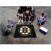 FANMATS NHL - Boston Bruins Tailgater Rug 5'x6'