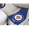 FANMATS NHL - Winnipeg Jets 2-pc Printed Carpet Car Mat Set