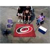 FANMATS NHL - Carolina Hurricanes Tailgater Rug 5'x6'