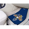 "FANMATS NHL - Florida Panthers 2-pc Printed Carpet Car Mats 17""x27"""