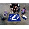 FANMATS NHL - Tampa Bay Lightning Tailgater Rug 5'x6'