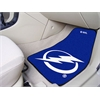 "FANMATS NHL - Tampa Bay Lightning 2-pc Printed Carpet Car Mats 17""x27"""