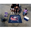 FANMATS NHL - Columbus Blue Jackets Tailgater Rug 5'x6'