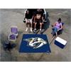 FANMATS NHL - Nashville Predators Tailgater Rug 5'x6'