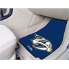 "FANMATS NHL - Nashville Predators 2-pc Printed Carpet Car Mats 17""x27"""