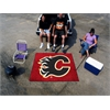 FANMATS NHL - Calgary Flames Tailgater Rug 5'x6'