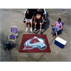 FANMATS NHL - Colorado Avalanche Tailgater Rug 5'x6'