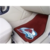 "FANMATS NHL - Colorado Avalanche 2-pc Printed Carpet Car Mats 17""x27"""