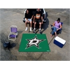 FANMATS NHL - Dallas Stars Tailgater Rug 5'x6'