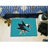 Fanmats NHL - San Jose Sharks Starter Mat