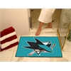 "FANMATS NHL - San Jose Sharks All-Star Mat 33.75""x42.5"""